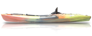 tootega huntsman sector 135  angling kayak side