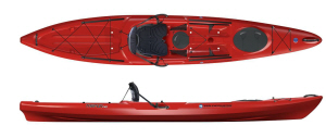 wilderness systems tarpon 140 sit on kayak